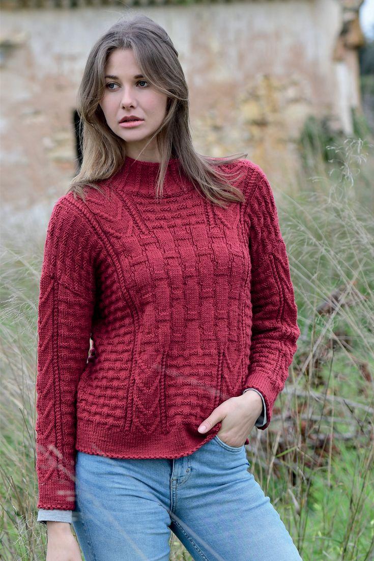 Photo of Knit a mixed pattern sweater