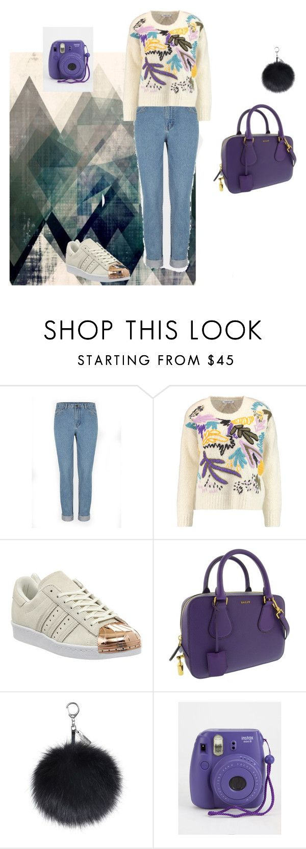 """Untitled #73"" by kayleigh-kester ❤ liked on Polyvore featuring Elizabeth and James, adidas and Bally"