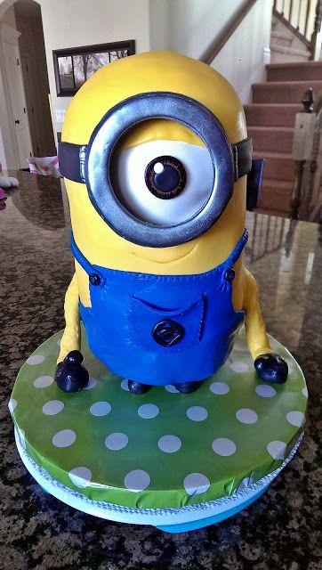 Minion cake | Minion cupcakes, Superhero birthday cake ...