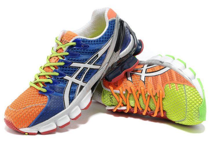 sports shoes cd245 7c749 Asics Gel Kinsei 4 Running Shoes Orange Green  onitsukatiger