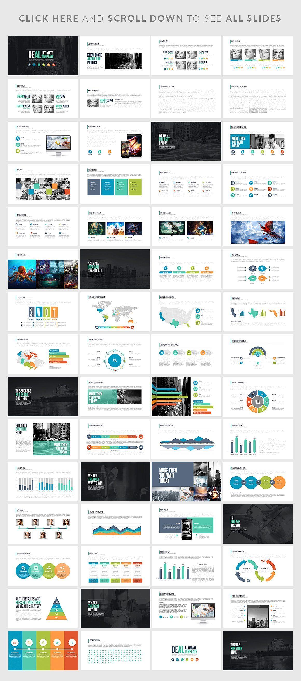 Deal Powerpoint Presentation Gestao De Projetos Apresentation