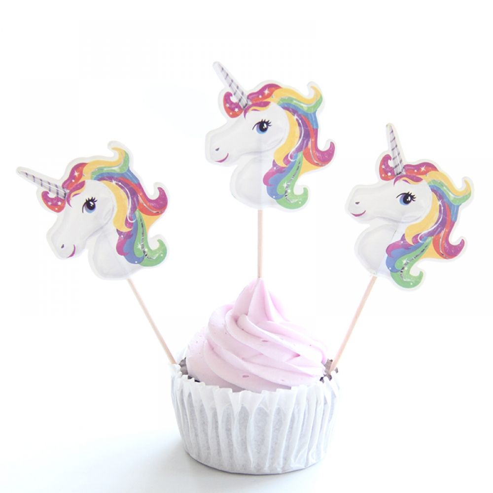 Unicorn Cake Decorations Set Big Deals! Party Time! Price: 12 & FREE Shipping