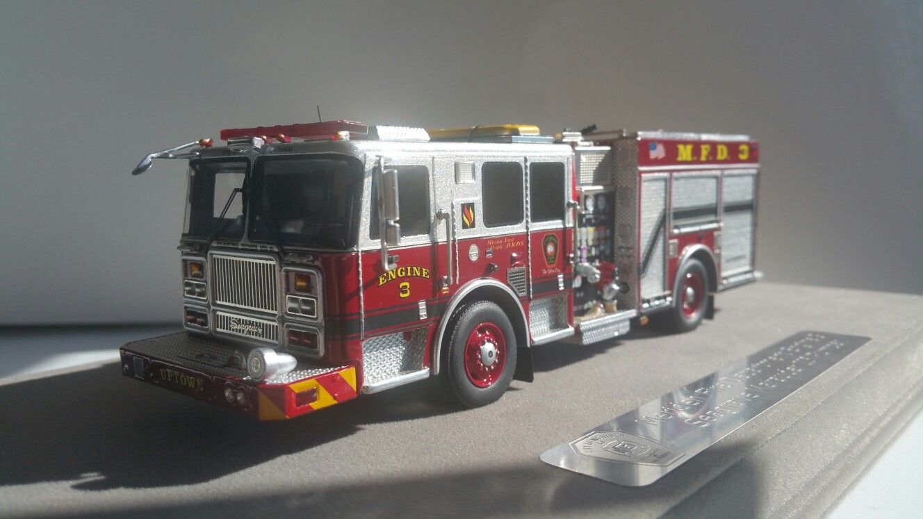 Pin by Gregory Matanoski on KITBASHED MODEL FIRE TRUCKS in