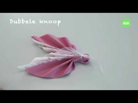 Ava Pliage De Serviettes Le Papillon Youtube Pliage