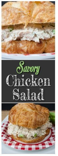 Savory Chicken Salad Quick and Easy images