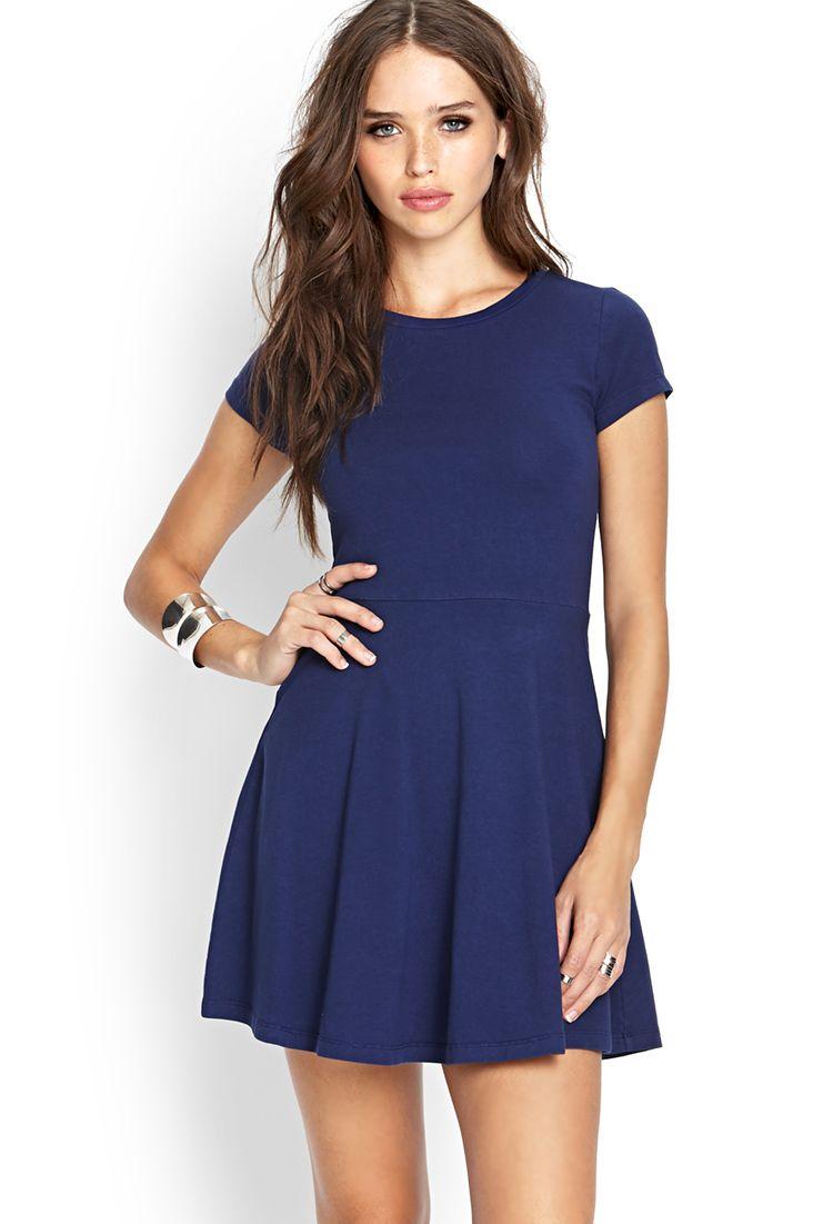 Blue Dress Forever 21