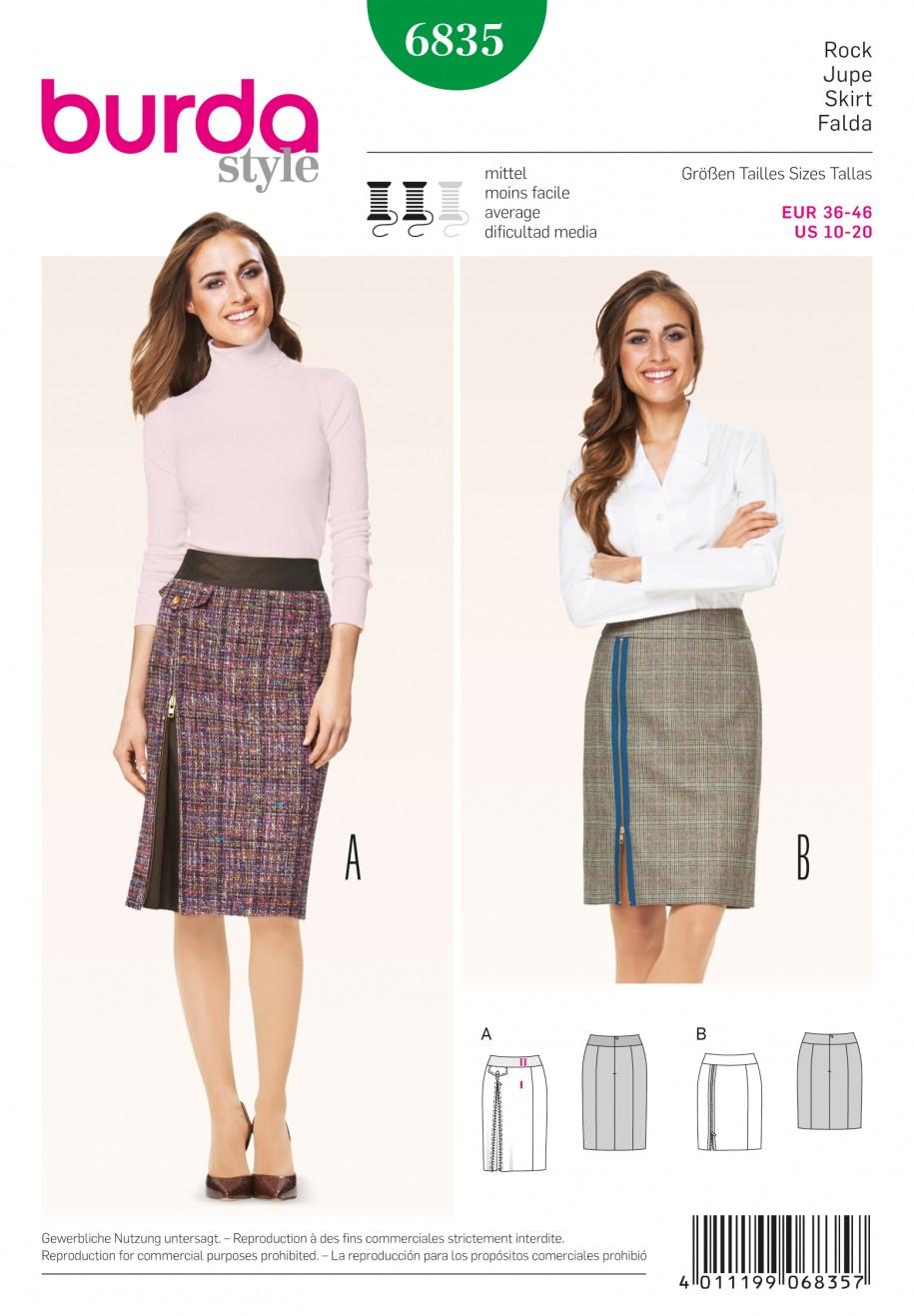 Burda Style Skirt 6835