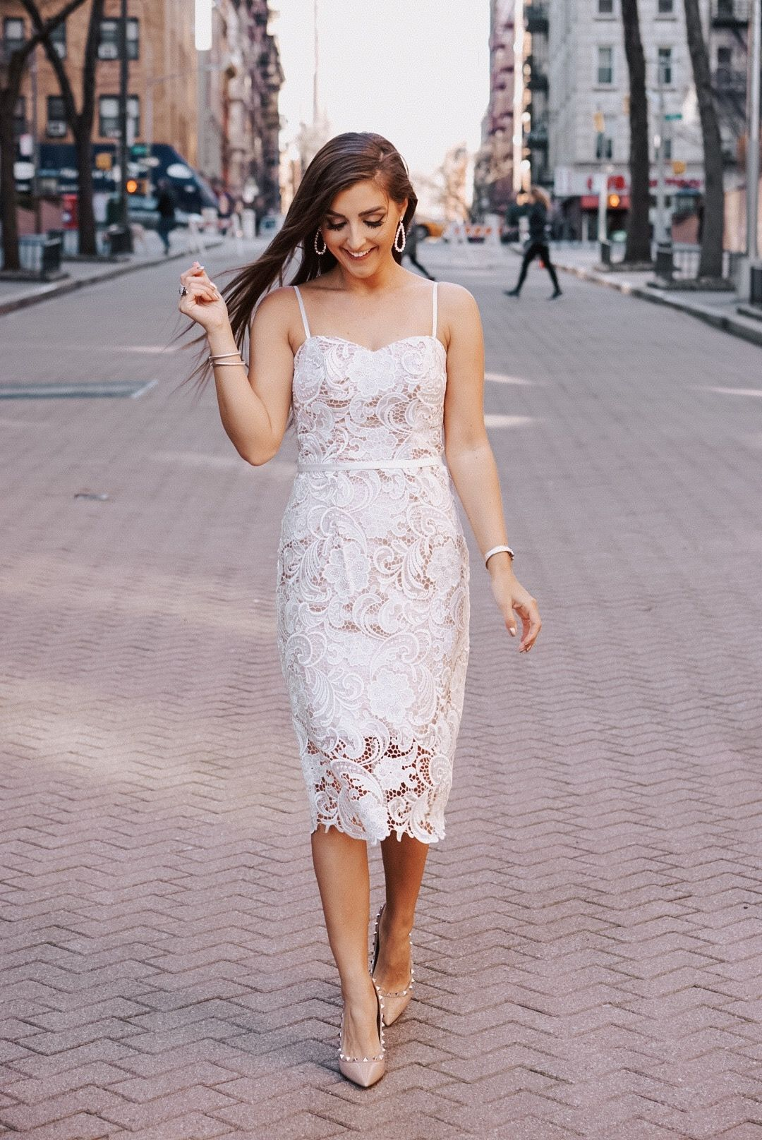David S Bridal Little White Dress Davidsbridal Beyondthegown Ad White Wedding Guest Dresses Fall Wedding Gowns Courthouse Wedding Dress