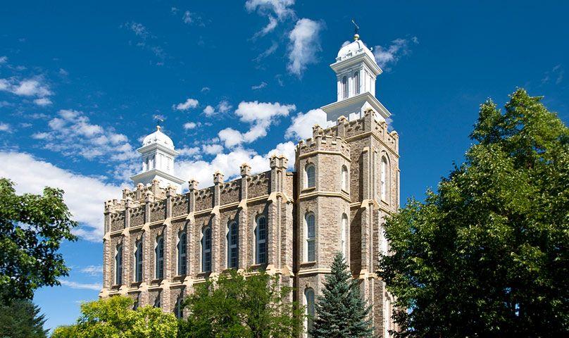 The Church of Jesus Christ of Latter-Day Saints Temple - Logan, Utah