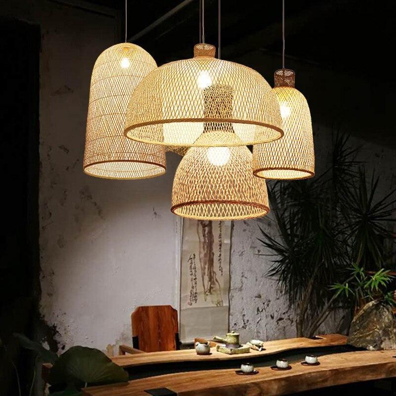 Verwonderlijk Modern LED Bamboo Art Pendant Lights in 2020 (With images)   Wood NS-86