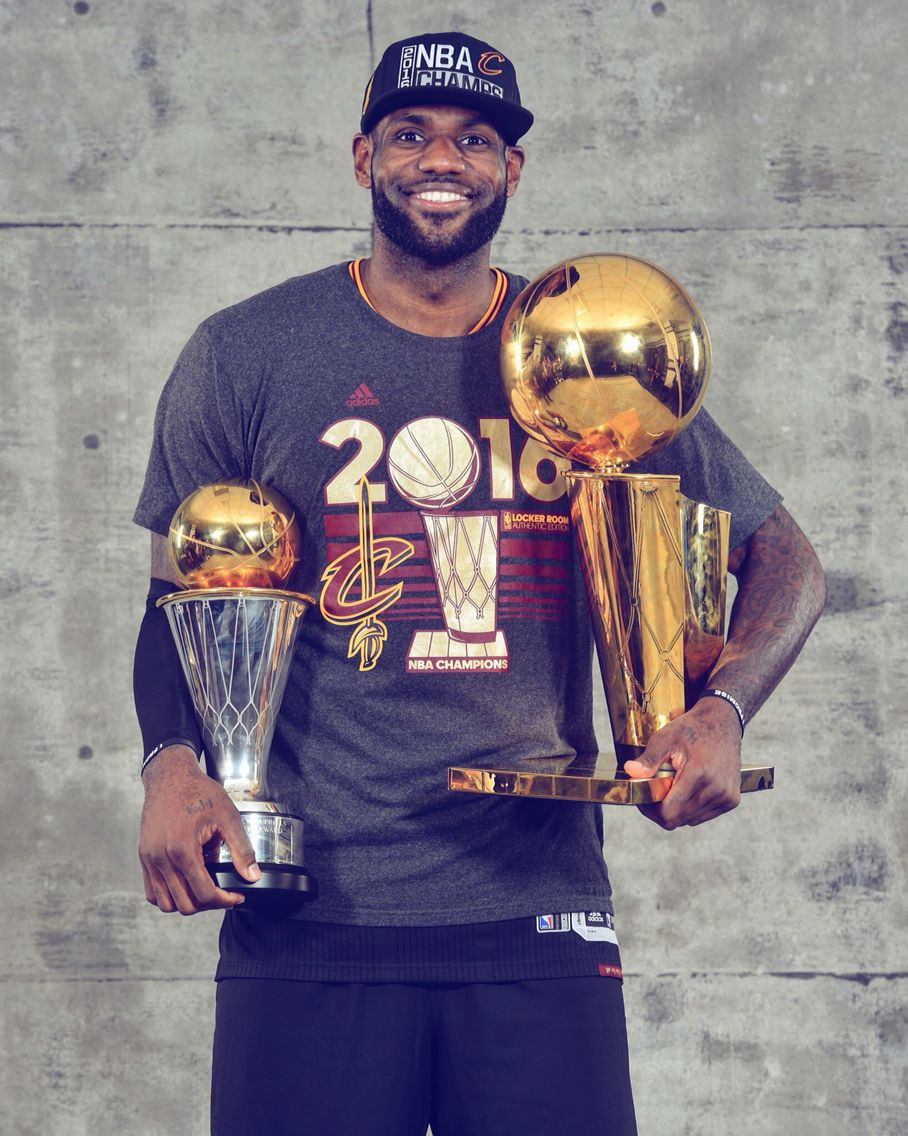 1382756a3 LeBron James 2016 NBA finals MVP
