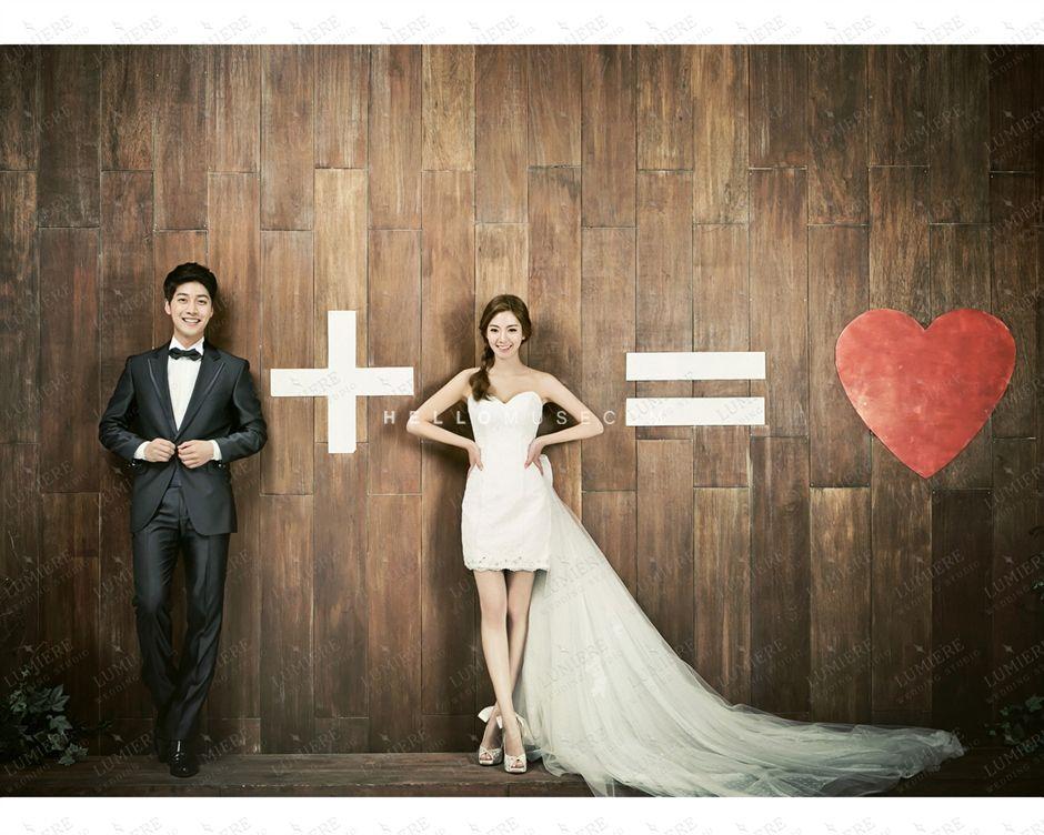 2016 new korea pre wedding photo shoot sample photos in for Self wedding photography