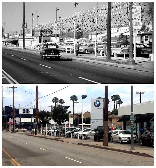 Top: 1960's 'Psycho' Scene Filmed At 4268 Lankershim Blvd