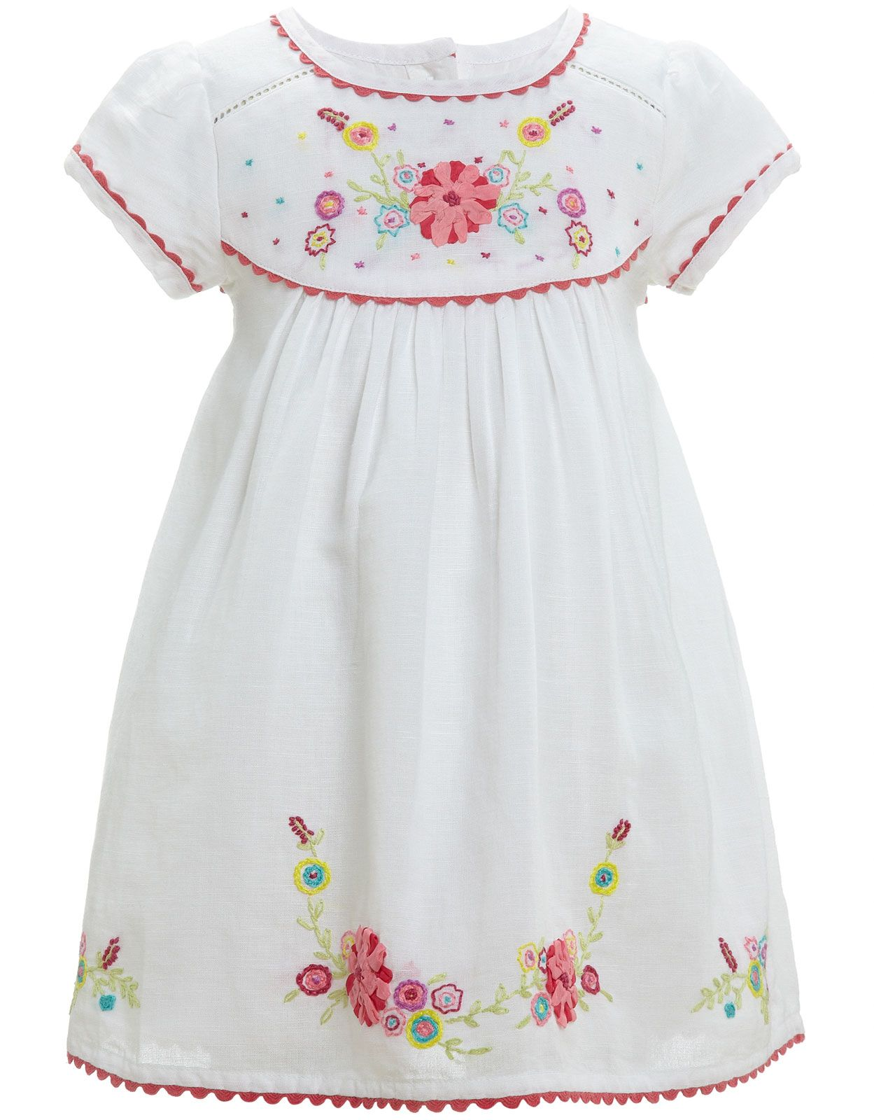 7a0fa93eee6f Embroidered Dress from my favorite store in UK Monsoon | Smocking ...