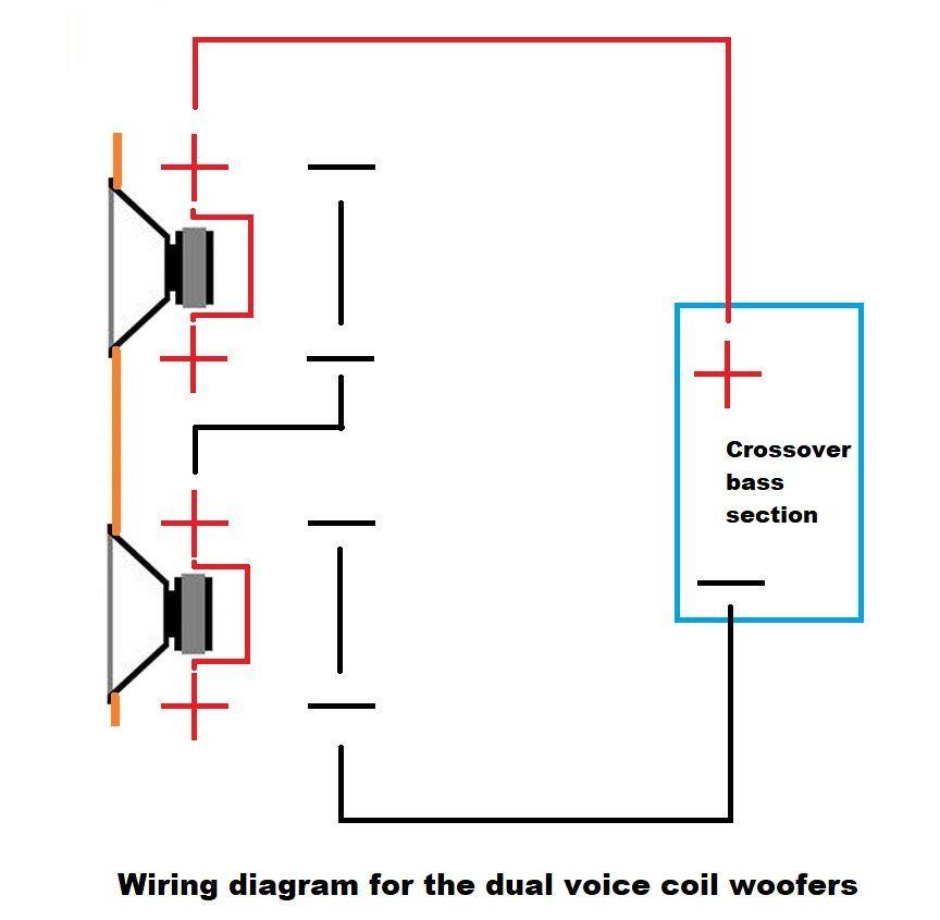Dual Voice Coil Wiring Floor Standing Speakers Diy Flooring Speaker