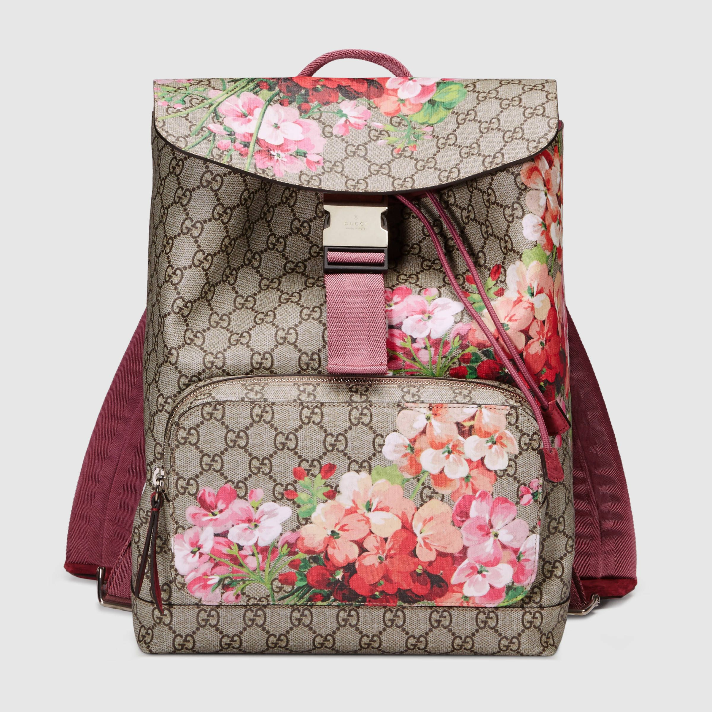 GG Blooms backpack - Gucci Women s Backpacks 405019KU2BN8693 ... e008a24b676a1