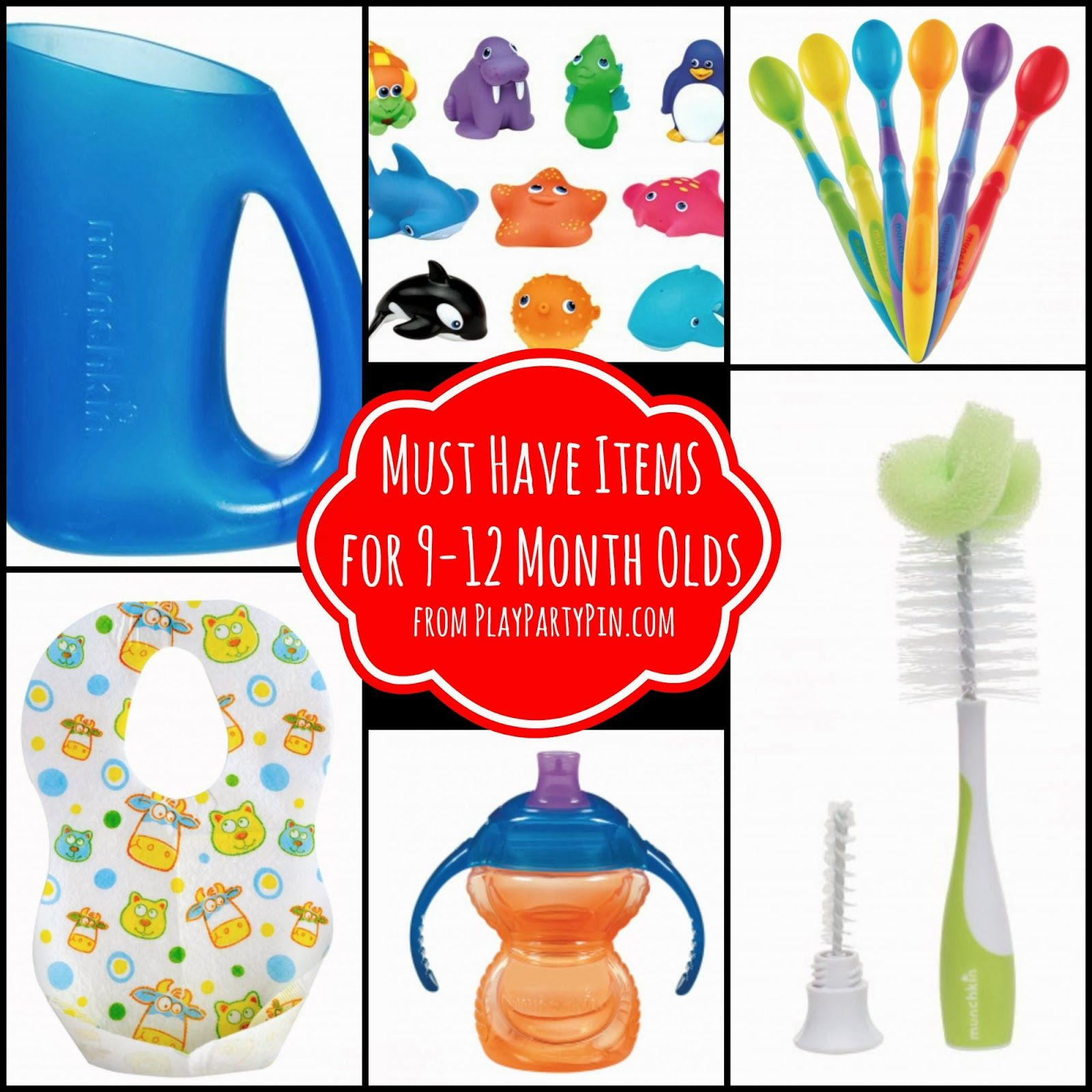 Must have items for 9 12 month olds from playpartypin baby