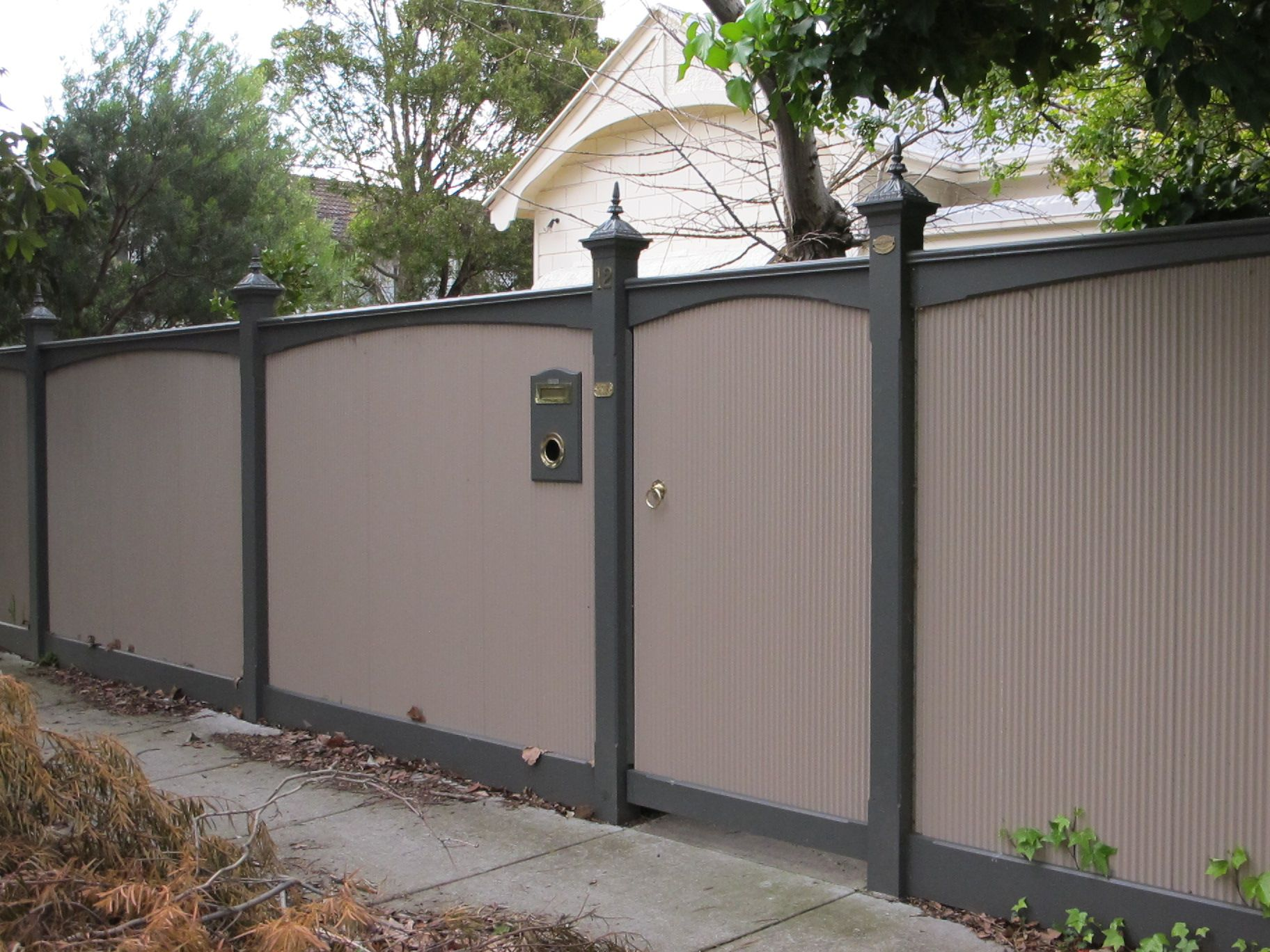 Download Solidaria Garden In 2020 Corrugated Metal Fence Fence Design Metal Fence