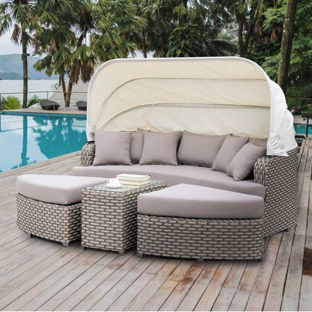 Free Shipping Buy Latitude Run Overbeck Patio Daybed With