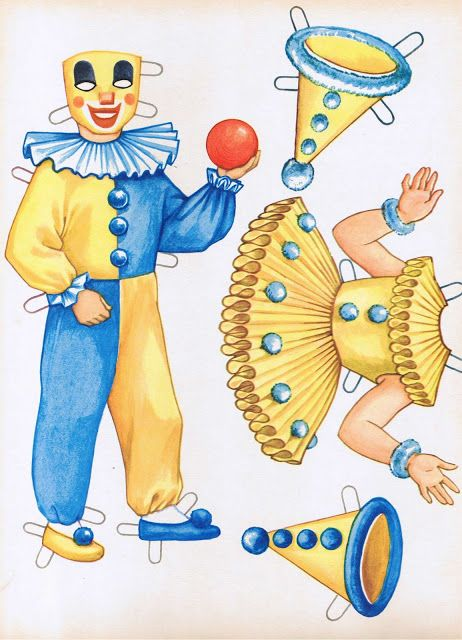 Party Time Paper Dolls - MaryAnn - Picasa Albums Web