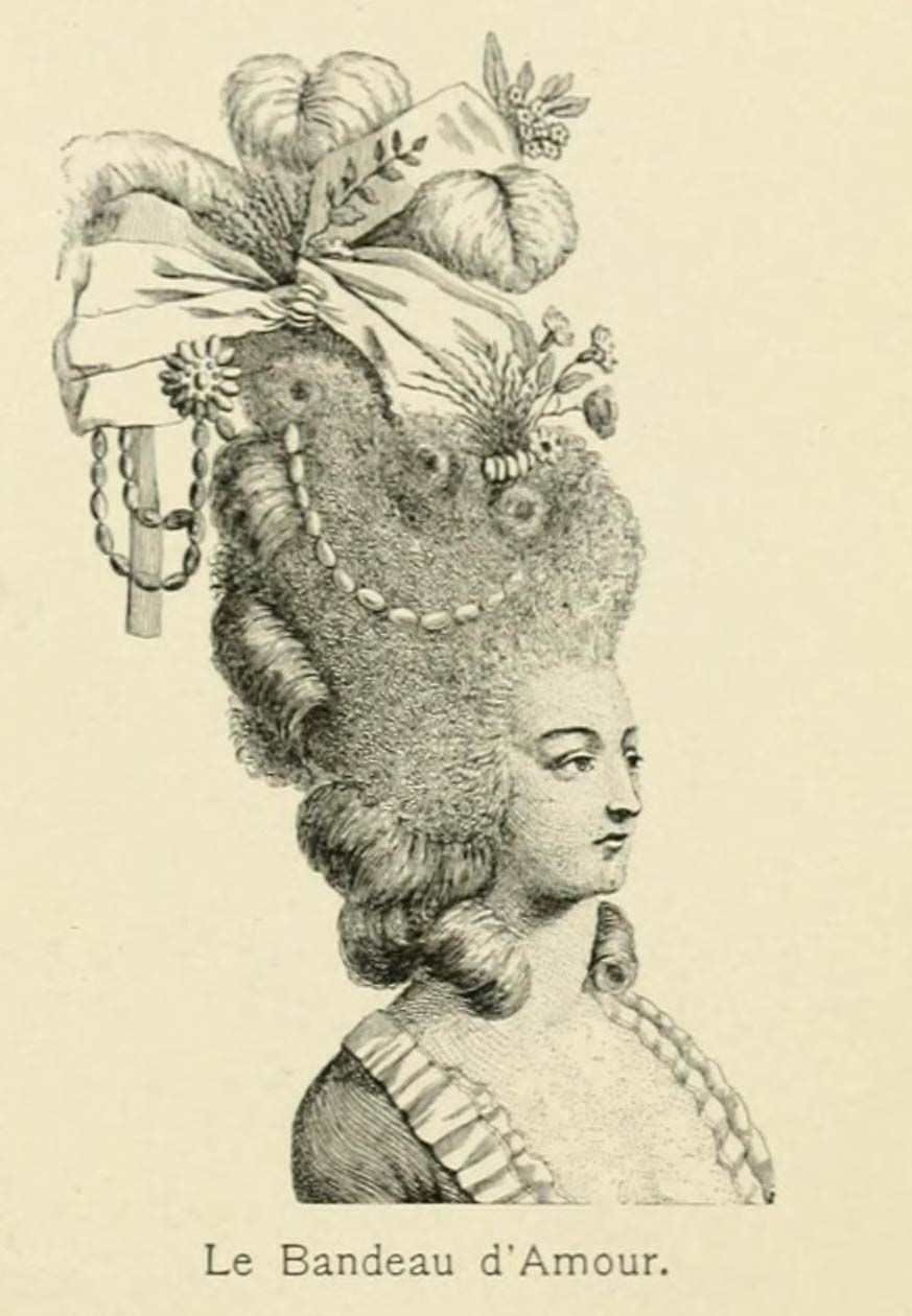 Groovy 1000 Images About 18Th Century Hair On Pinterest Coiffures Short Hairstyles Gunalazisus