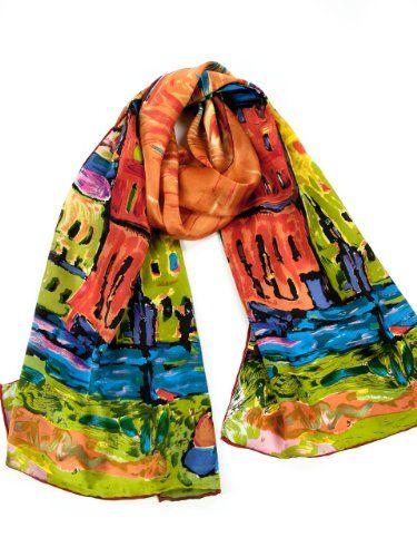 100% Silk Art Scarf - Extremely Soft and Colorful La Purse,http://www.amazon.com/dp/B009CJ9W7W/ref=cm_sw_r_pi_dp_okNBtb1FQ4F0AAA3
