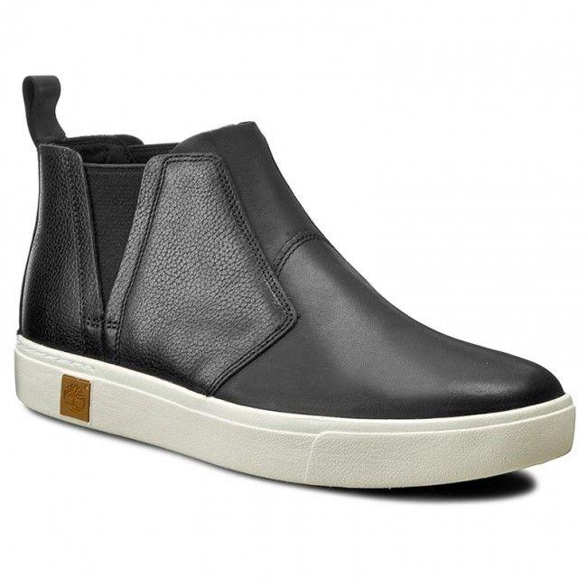moda más deseable nuevo lanzamiento linda Ghete Jodhpur TIMBERLAND - Amherst Chelsea A17H2 Black | Adidași ...