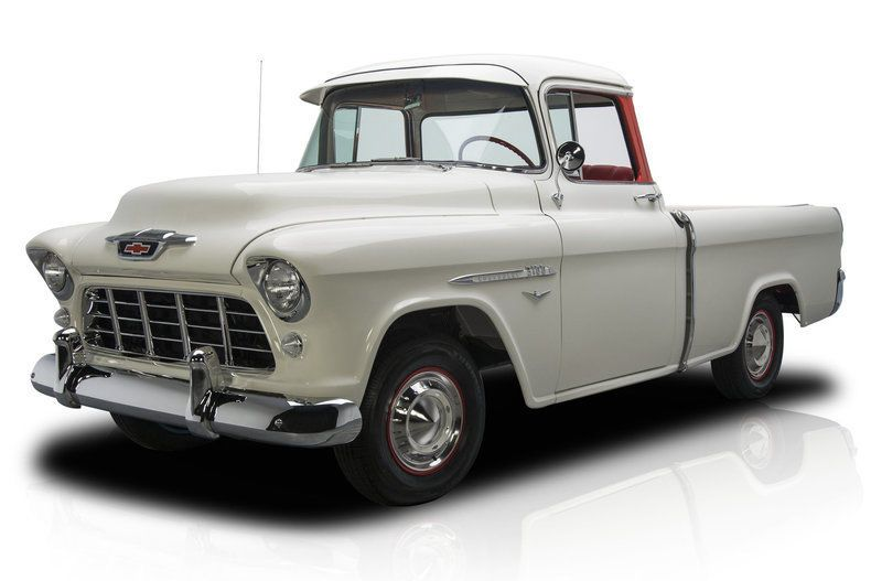 Nice Amazing 1955 Chevrolet Other Pickup Truck 1955 Chevrolet Cameo Pickup Truck 54548 Miles India Ivory Pick 1955 Chevrolet Pickup Trucks Muscle Cars For Sale