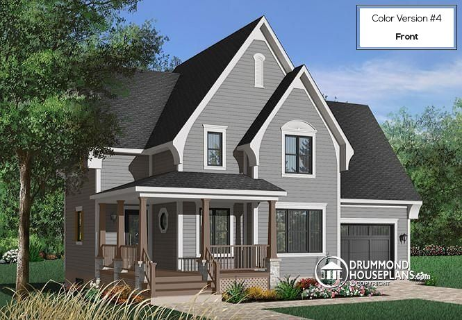 Pin by Drummond House Plans on Traditional House Plans and ...