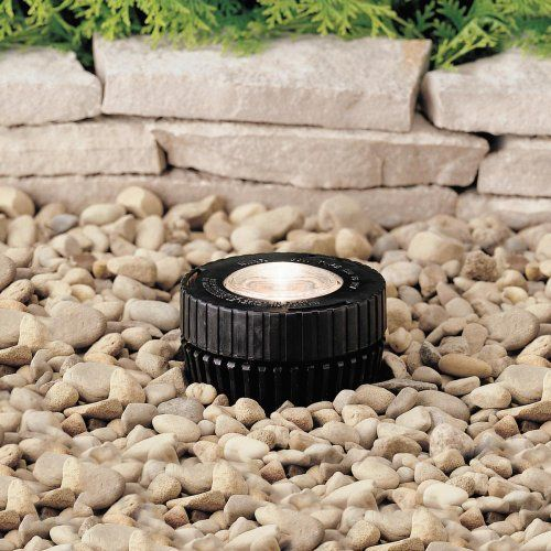 Kichler Lighting 15190bk 12 Volt Low Voltage Mini Well Light With Heat Resistant Glass Lens Black By Kichler 77 00 From The Manufacturer Lamp