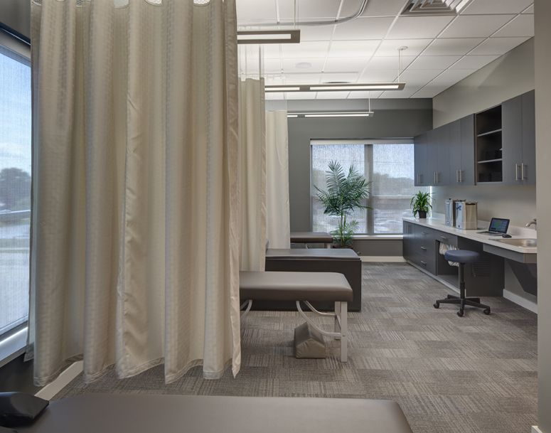 Fisher Family Chiropractic Chiropractic Office Design