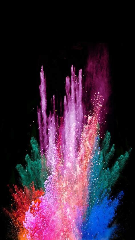 Smoke | Colourful | Wallpapers | IPhone | Android | Papel