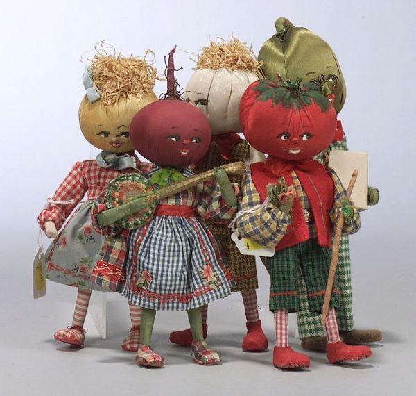 vegetable dolls vintage