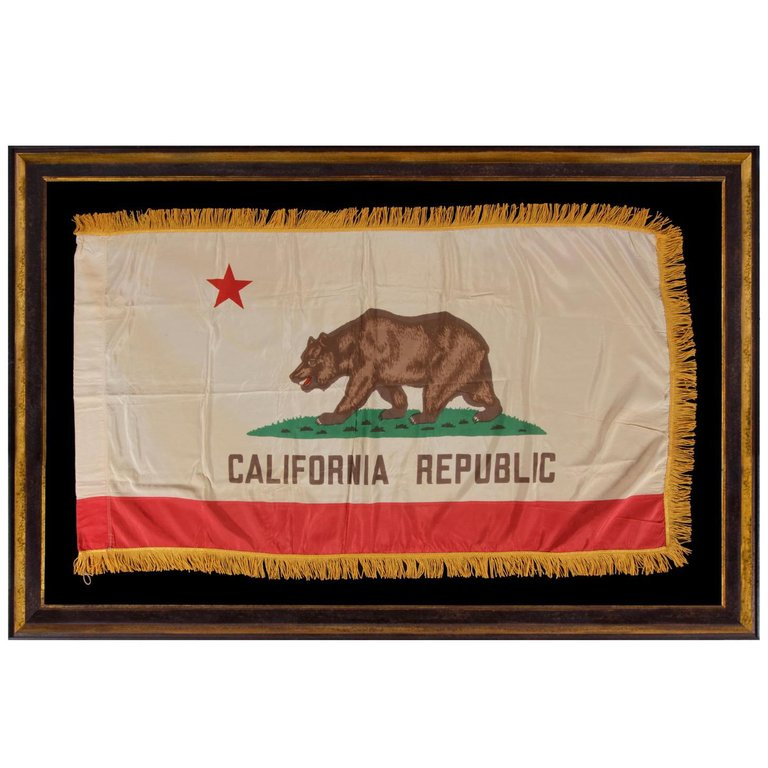abeb3b84 California State Flag with Gold Silk Fringe in 2019 | Products ...