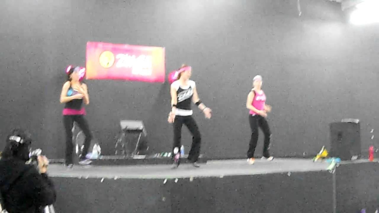 ZUMBA Dance-off !! Rock You Like a Hurricane