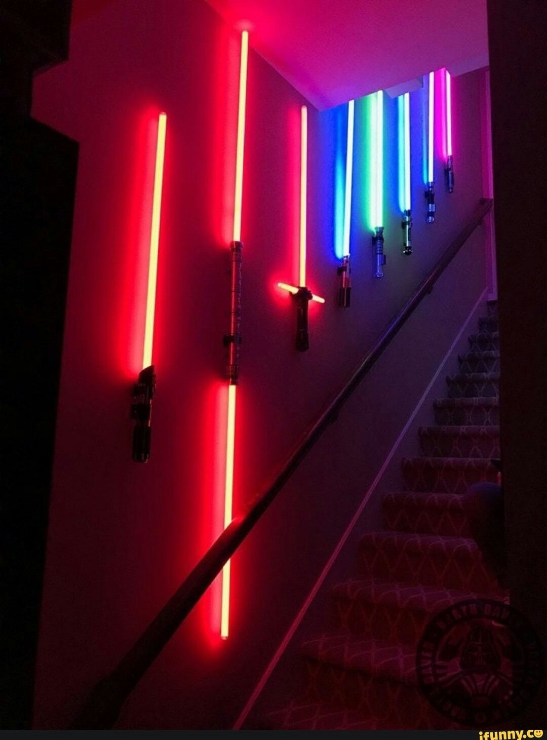 Light Saber Wall Decor In 2020 Star Wars Light Saber Lightsaber Light