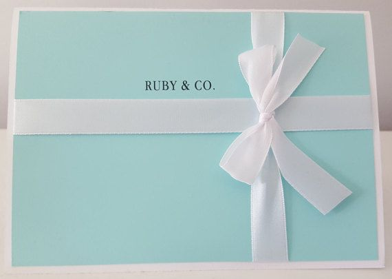 breakfast at tiffany s themed invitations by thedecordolls on etsy