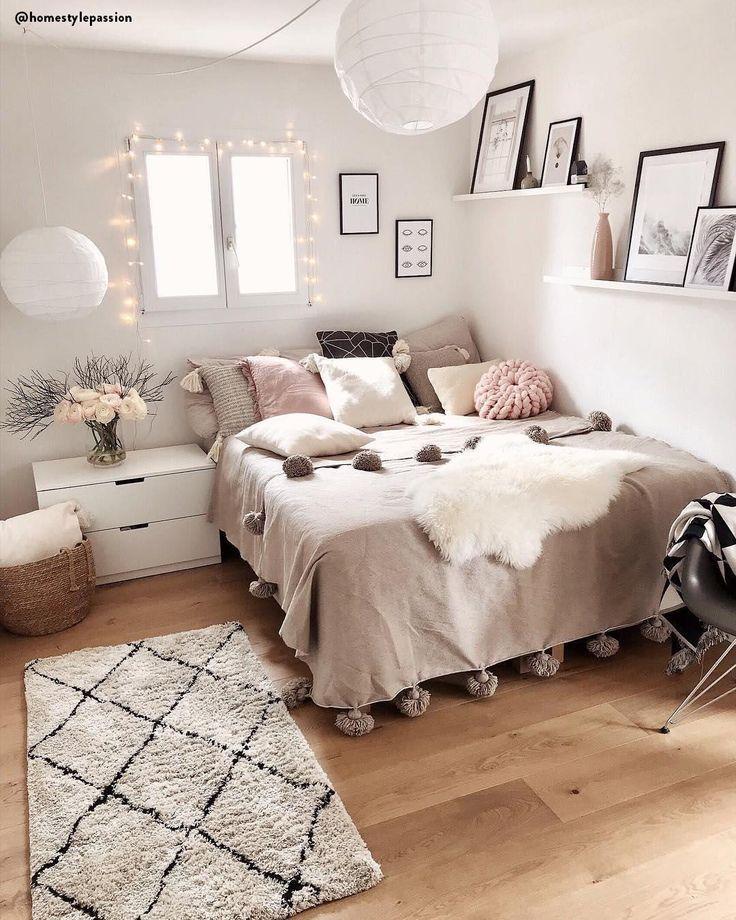Handgetufteter Teppich Naima - https://pickndecor.com/haus #girlrooms