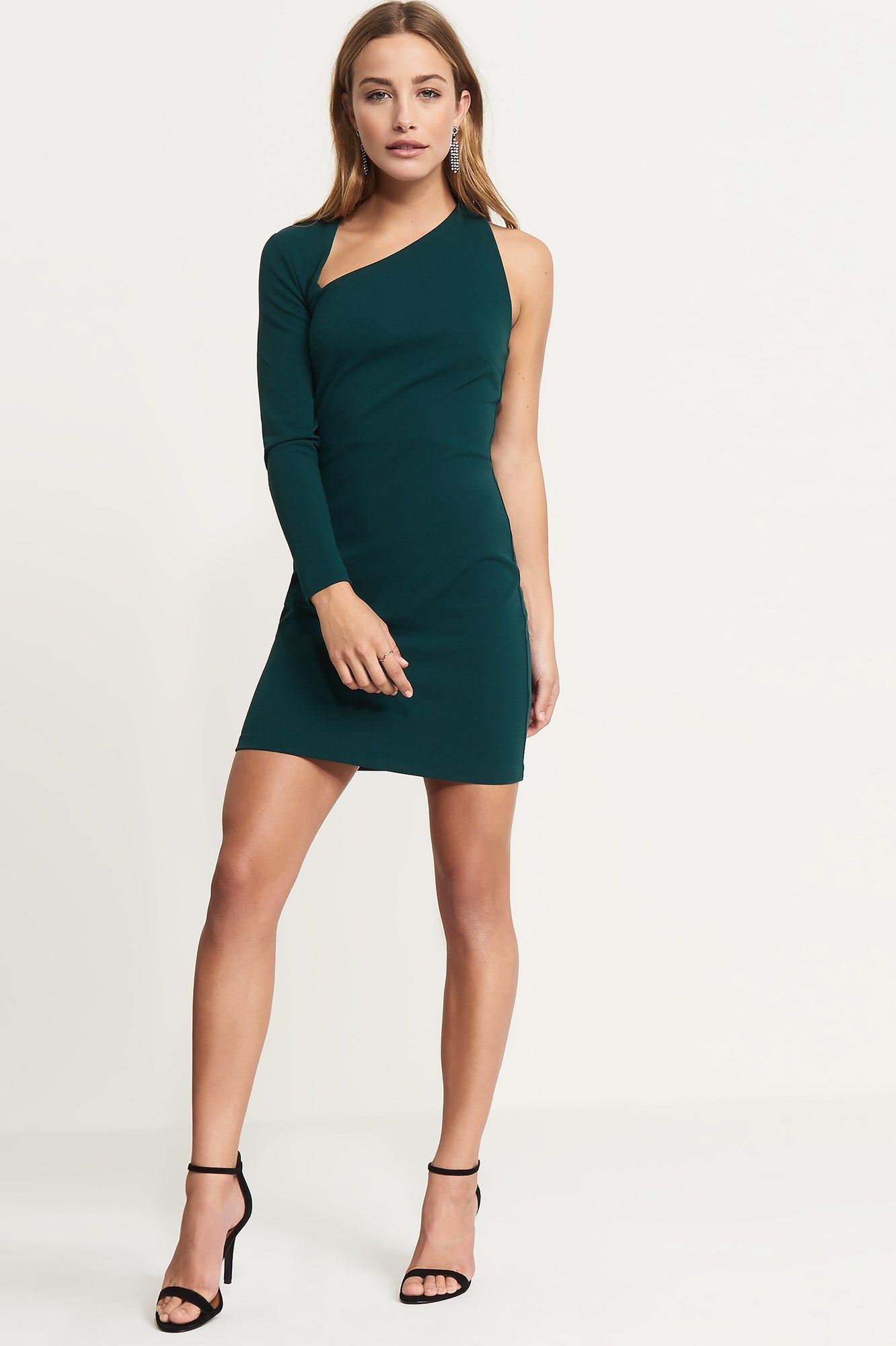 One Sleeve Bodycon Dress  e300cf714