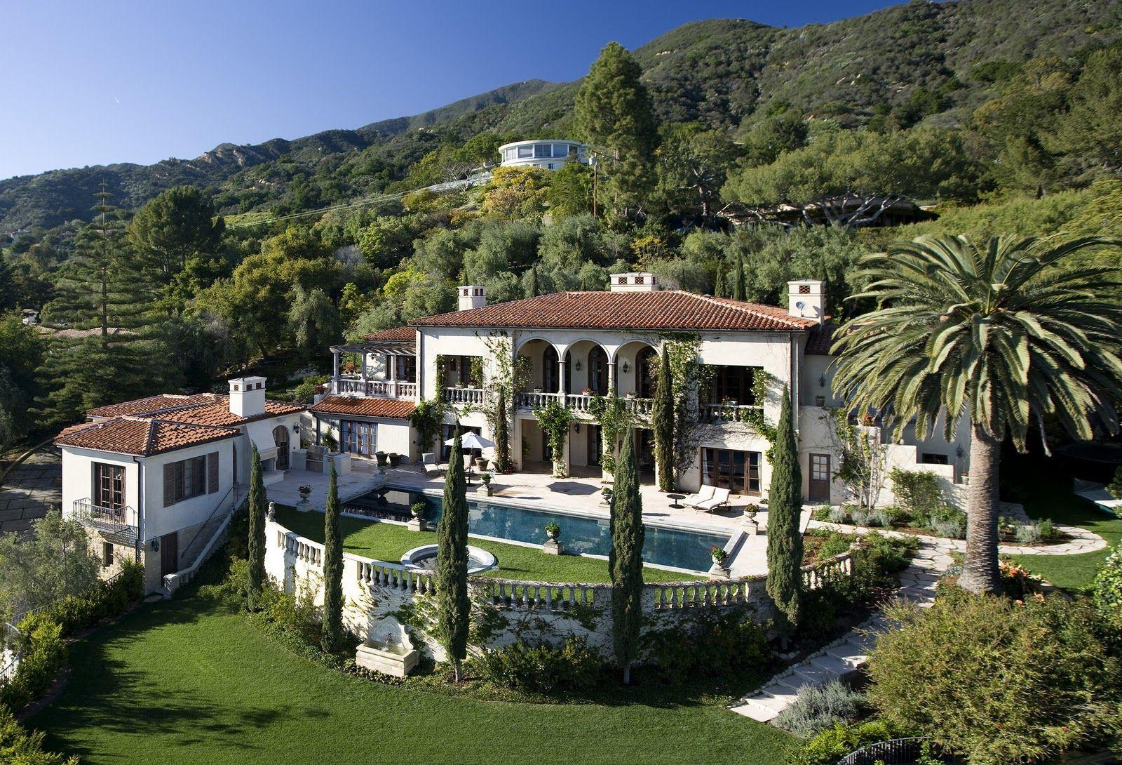 al gore house santa barbara real estate homes condos property rh pinterest com Al Gore Home in Tennessee Al Gore Malibu Mansion