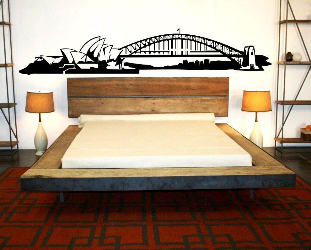 Sydney Skyline Wall Decal sticker vinyl mural bedroom kitchen art ...
