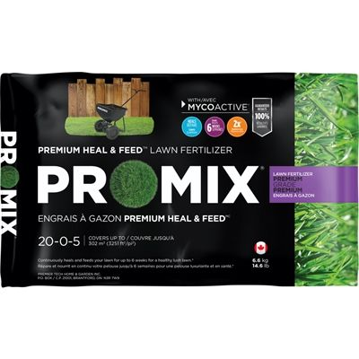 Pro Mix 6 6 Kg Pro Mix Heal And Feed Lawn Fertilizer Lawn Fertilizer Fertilizer Healing