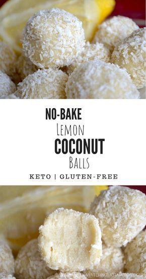 NoBake Lemon Coconut BallsThese are so sweet and refreshing