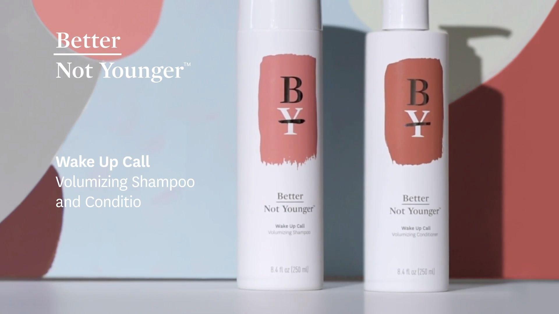 Wake Up Call Volumizing Shampoo - Better Not Younger   Sephora