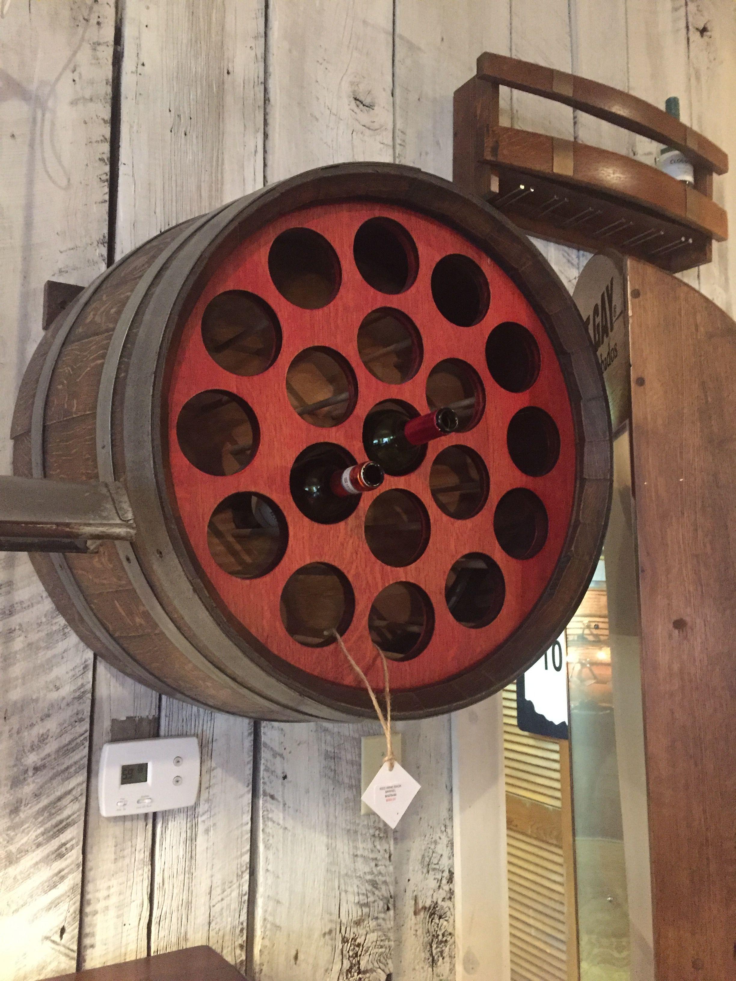 There Is Something Beautiful About Storing Wine Bottles In Wine Barrels Wine Barrel Oak Barrel Barrel
