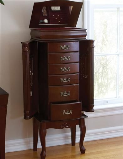 Classic Jewelry Armoire From Victorian Trading Co.