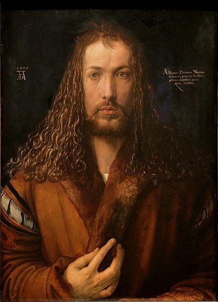 Datei:Dürer - Selbstbildnis im Pelzrock - Alte Pinakothek.jpg