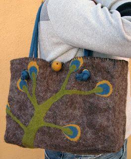 Felt Handbag, complete!