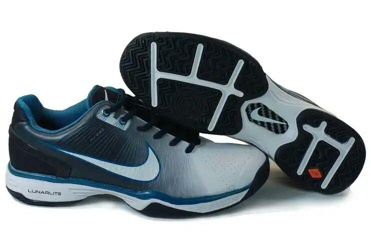 d162144bae The Nike Lunarlite Vapor Tour White Blue, Offers a Springy Bounce ...