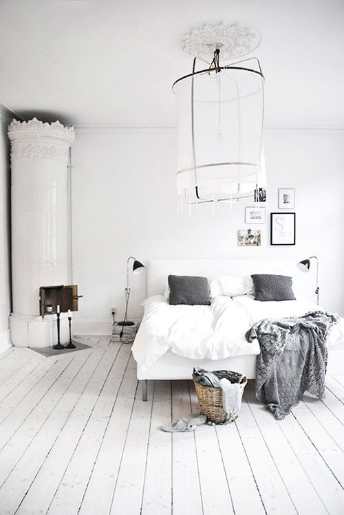 witte slaapkamer inspiratie | Slaapkamer | Pinterest